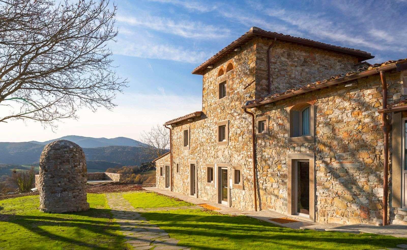 facciata esterna de La Fornace de' Medici, ristorante all'aperto vicino a Firenze